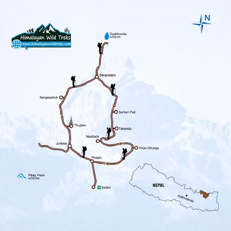 Dudh kunda trekking price, Itinerary, season