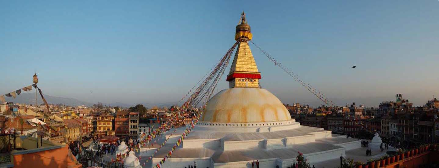 Boudhanath stupa, one of the famous and enlisted world heritage site