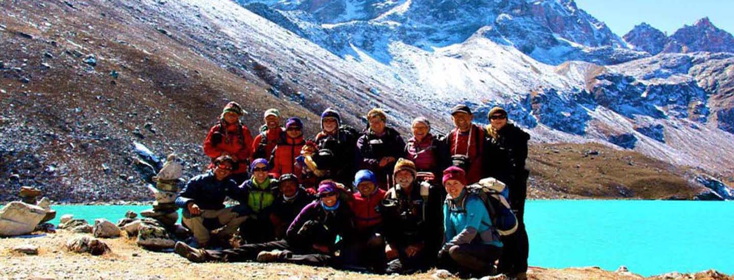 Trekking in Gokyo Valley